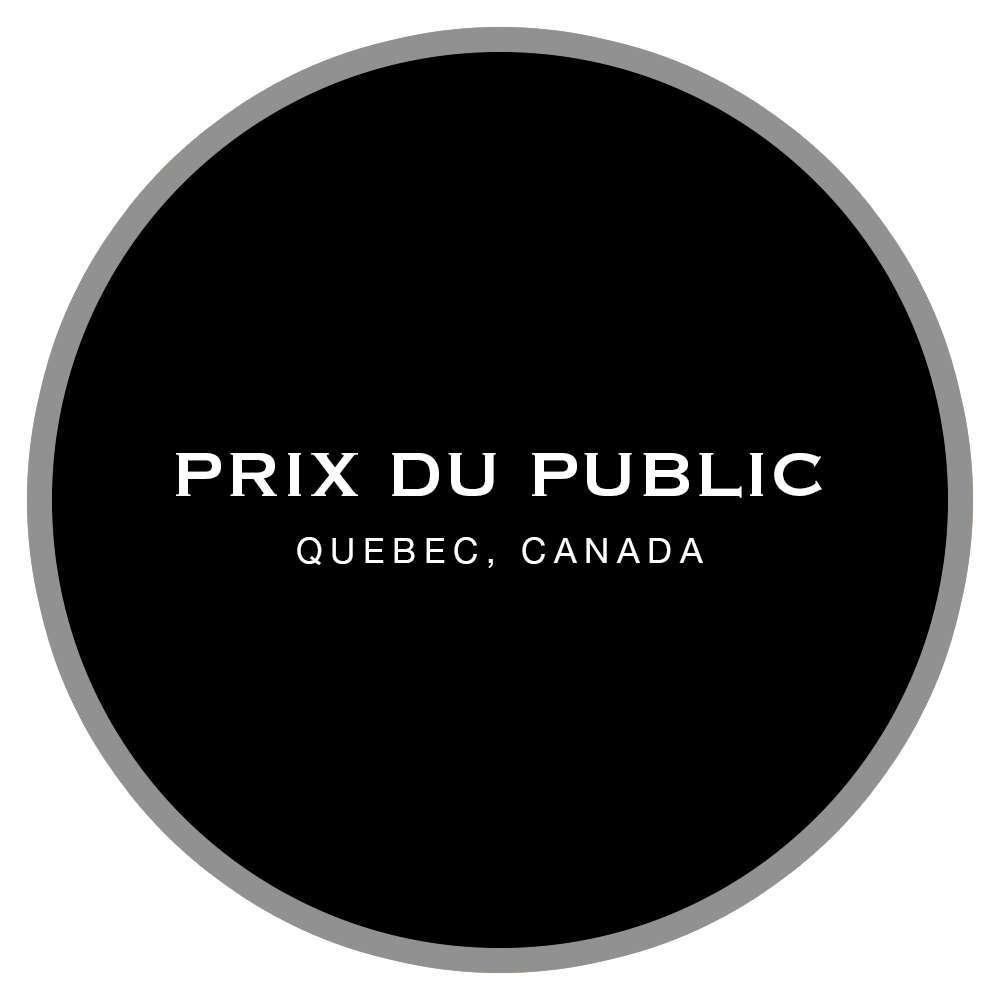 2015 Silver Medal Prix du Public, Quebec, Canada