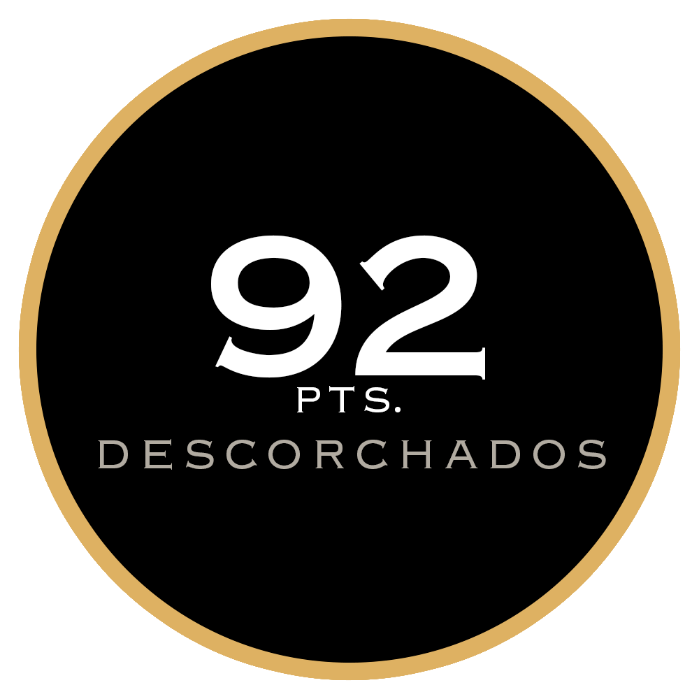 92 pts. Descorchados