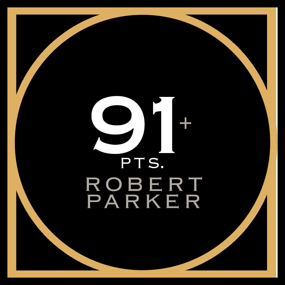 91+ pts. Robert Parker