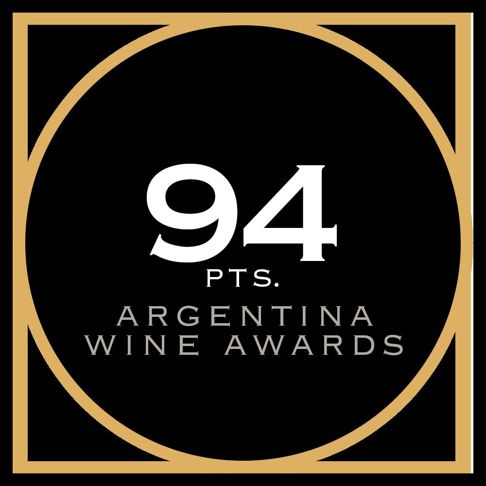 94 pts. Argentina Wine Awards