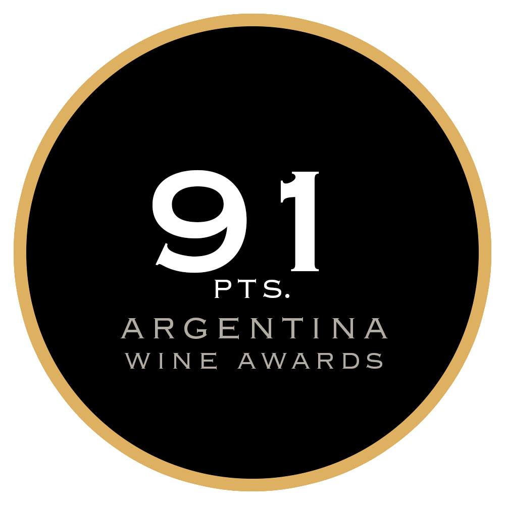 91 pts. Argentina Wine Awards