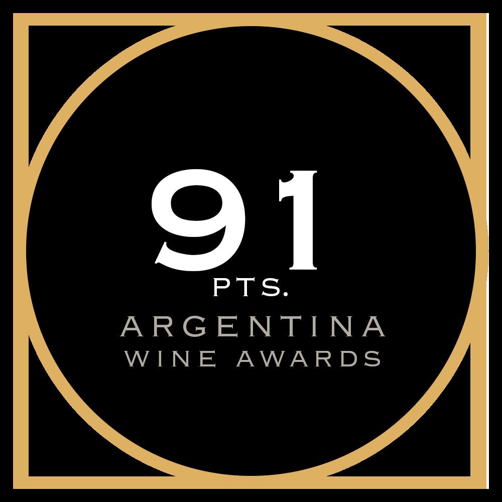 91 pts. Argentina Wine Awards
