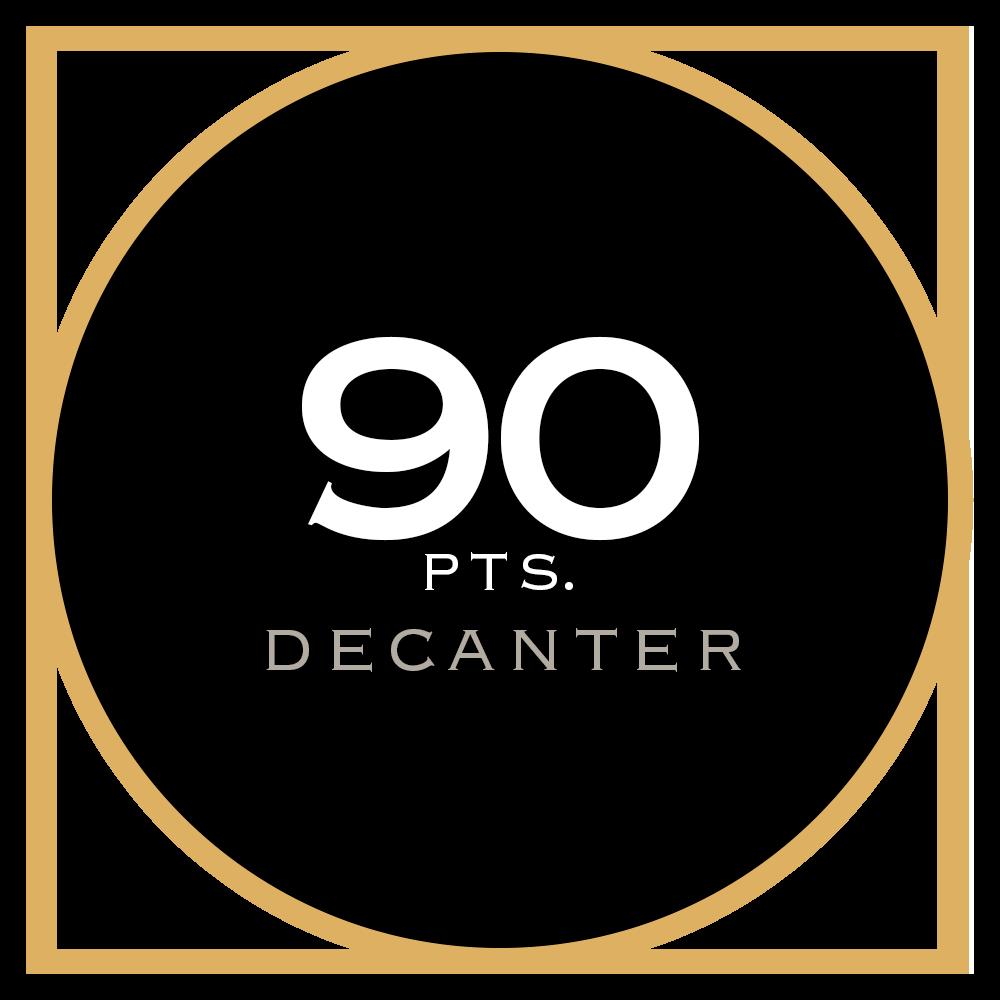 90 pts. Decanter