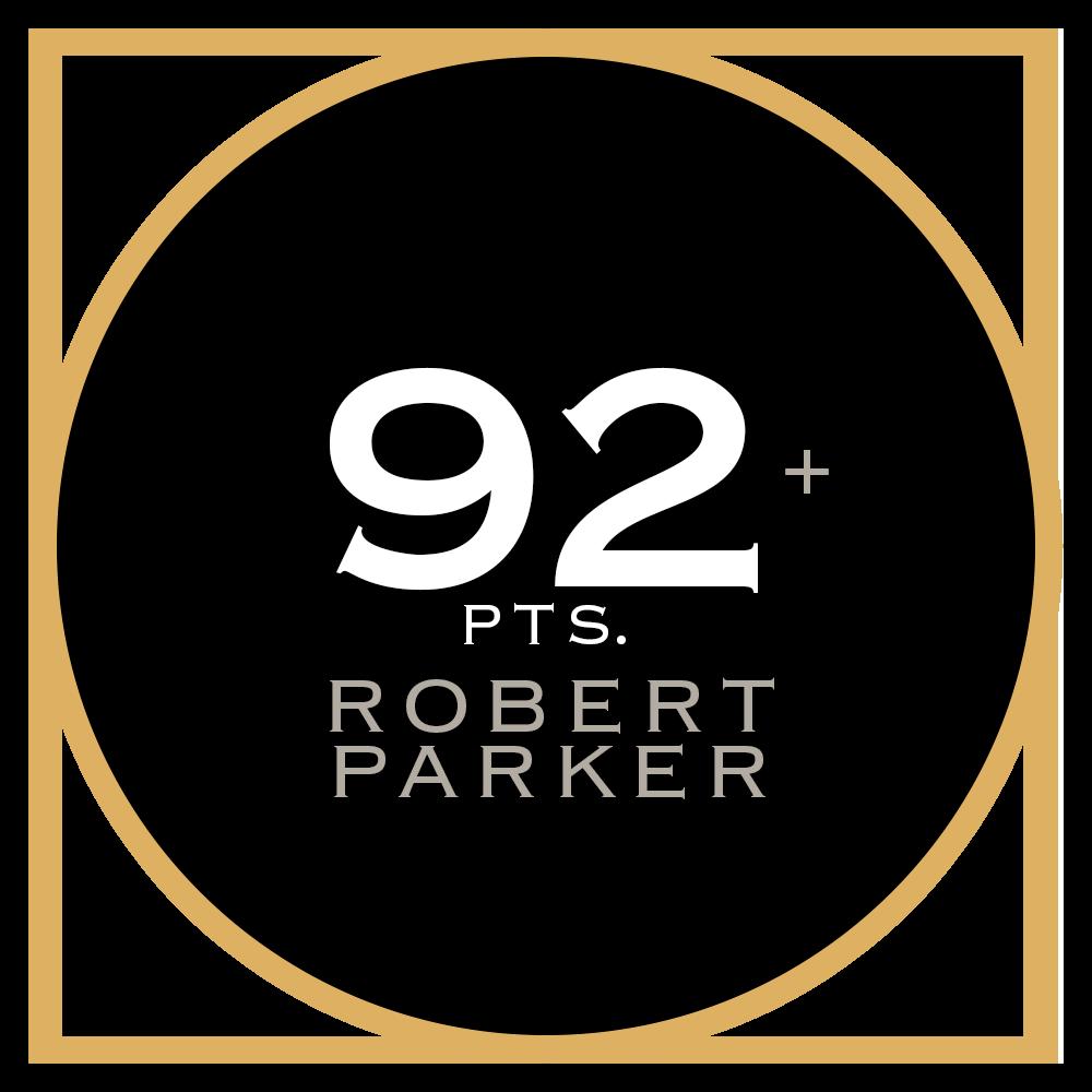 92+ pts. Robert Parker