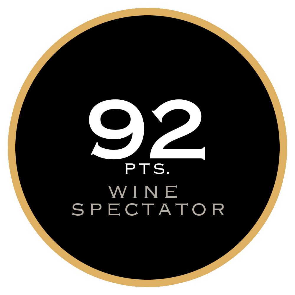 92 pts. Wine Spectator