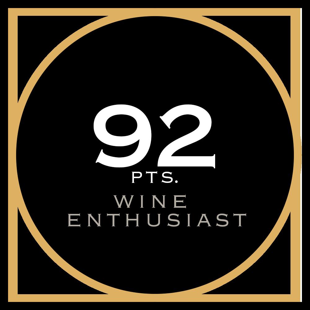 92 pts. Wine Enthusiast