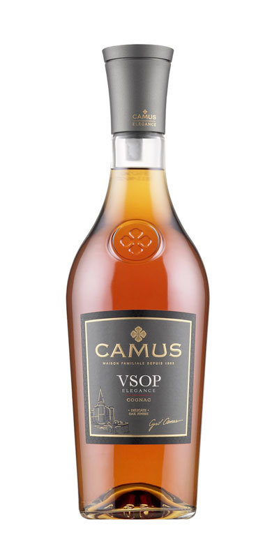 <p>CAMUS VSOP Elegance is a Cognac rich in mellow, fruity aromas. For the VSOP Elegance, Maison CAMUS selects aromatic eaux-de-vie partially distilled on the lees, including some from our famous Borderies cru, to strengthen the aromatic richness of this Cognac as it ages.</p> <p>Aging in oak barrels specially selected by CAMUS ensures a great mellowness of character and richness of flavor, accented with delicate woody notes. The barrels used are medium toasted, preserving the original aromas of the eaux-de-vie and producing a Cognac with admirable poise and balance.</p> <p>Drink straight over ice or long. CAMUS VSOP Elegance is the preferred choice of bar professionals worldwide as the base for premium cocktails.</p>